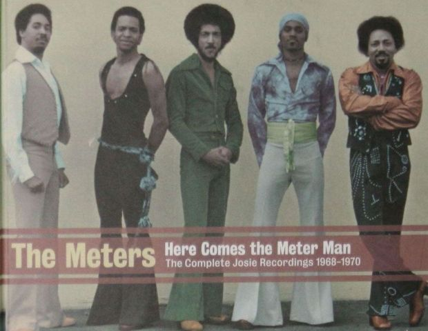 The Meters: A funk band from New Orleans, Louisiana recorded and performed in the 60s until 1977. Many Hip Hop producers sampled their work.