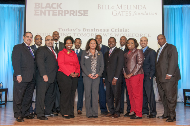 Black Enterprise with the Bill and Melinda Gates foundation