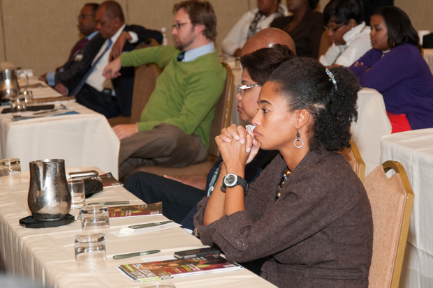 Attendees at the Education Reform Symposium in Memphis