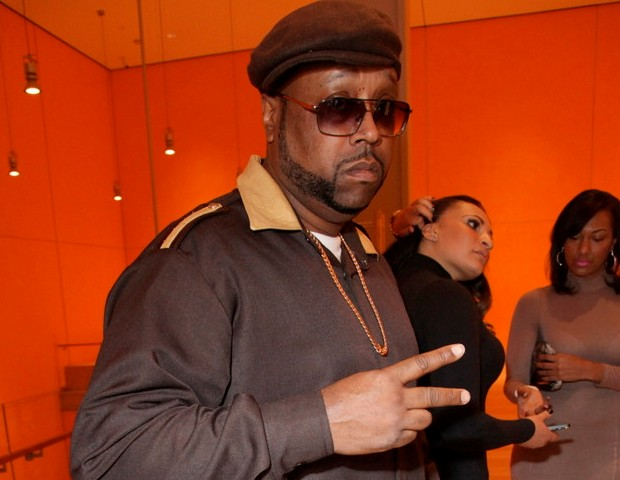 DJ Kay Slay (Streetsweeper DJ/Hot 97) attends the affairs to support his fellow DJs.