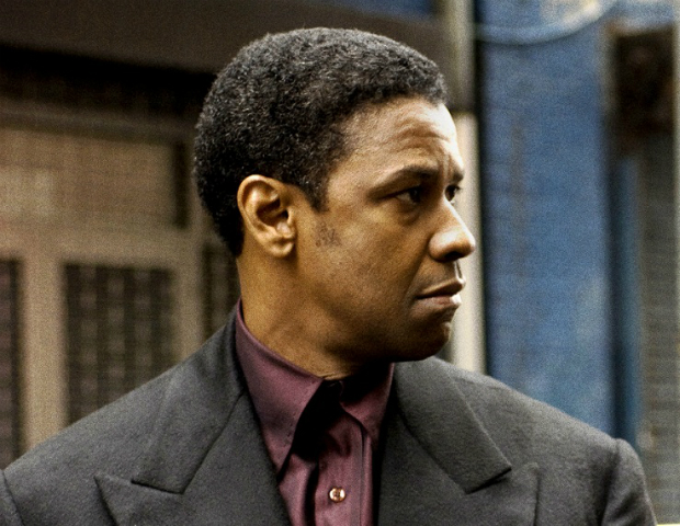 This Hollywood biopic, telling the story of Harlem hustler, Frank Lucas, debuted in 2007 starring Denzel Washington and Russell Crowe. Washington played the role of Lucas, while Crowe portrays police detective, Richie Roberts. This film is Denzel's highest grossing film to date with total box office receipts of $266.5 million.