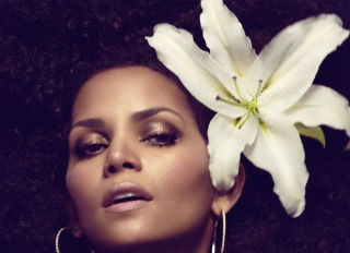Halle Berry 'Grows' an Afro for Interview Magazine