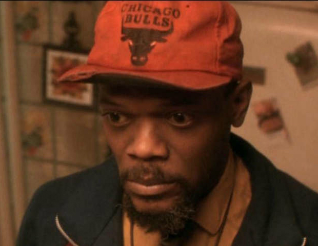 Jungle Fever (1991)   Who could forget the 2 most famous (Or shall I say, most successful) crackheads, Gator (Samuel Jackson) and Vivian (Halle Berry)? Jackson plays the crackhead son of Lucinda (Ruby Dee) and Good Reverend Doctor (Ossie Davis).