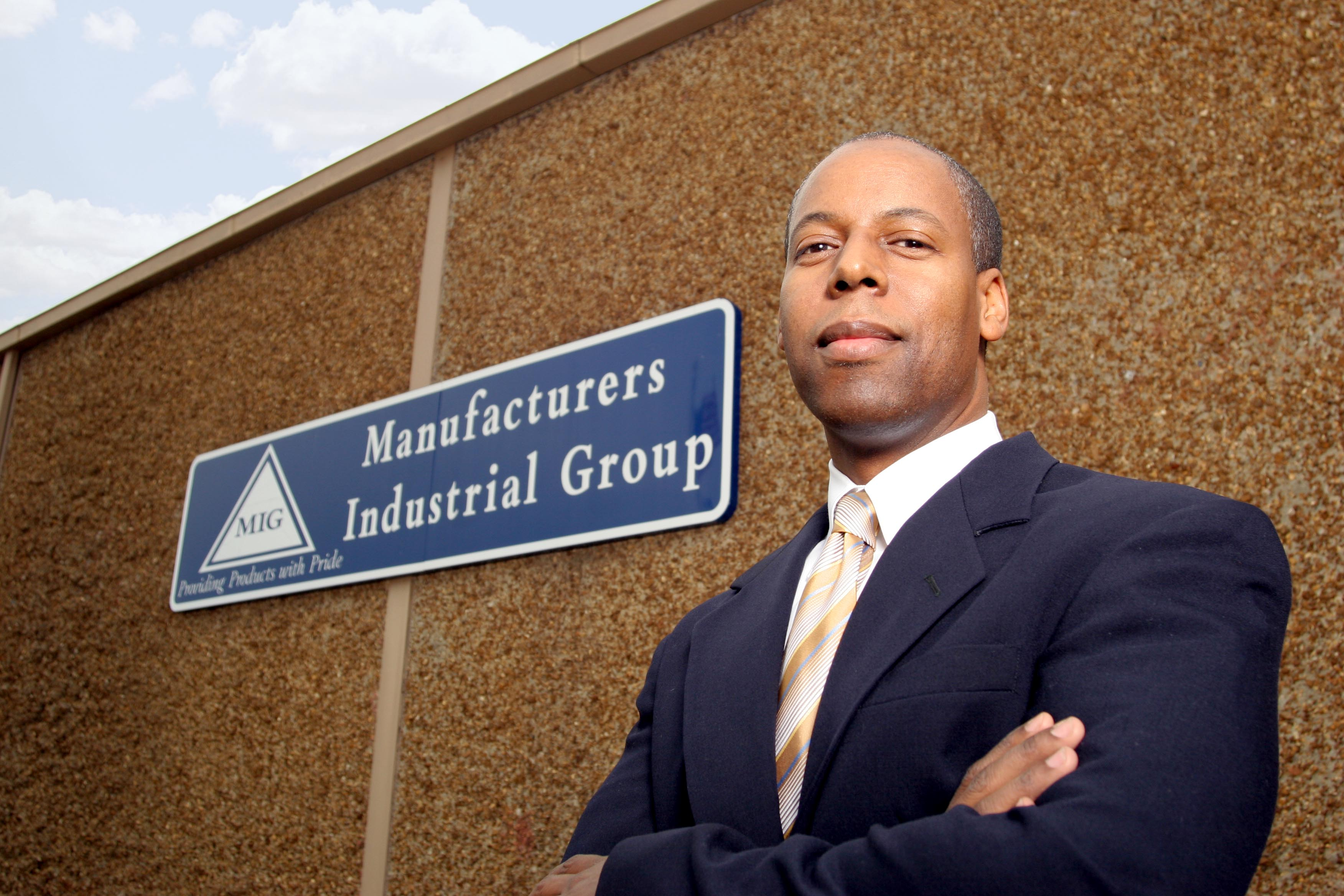 Manufacturers Industrial Group L.L.C. CEO Andre Gist (Image: Courtesy of Subject)
