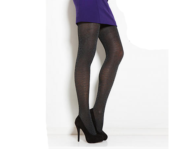 Animal Print: The tonal print of these tights make them quietly fierce for the workplace.
