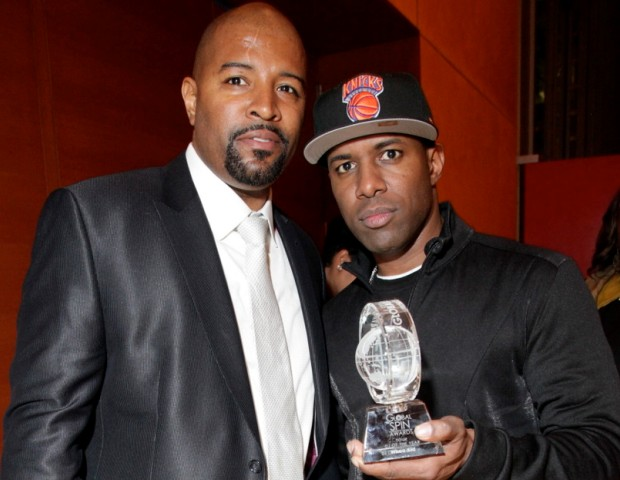 Global Spin Awards founder, Shawn Prez and DJ Whoo Kid (RadioPlanet.TV, Sirius XM Radio).