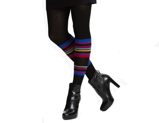 2-in-1 Stripes: For the professional in the creative sector, these mimic the layering effect of socks over tights for a look that's fun and quirky. Nordstrom, $15