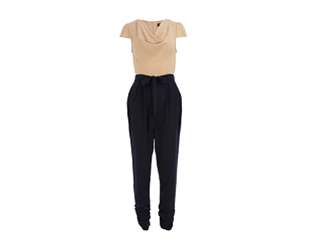 Two Tone: This piece is like a 2-in-1. Belt it and no one will ever know it's actually a jumpsuit. Dorothy Perkins, $79