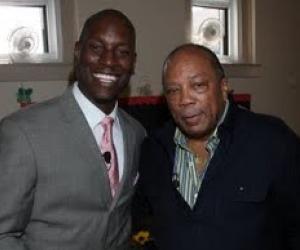 Tyrese & Quincy Jones partner for Text4Baby