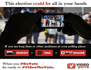 Video the Vote and UStream Push Voters to Document Election Day Injustice