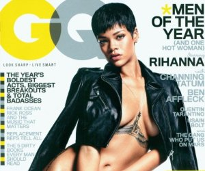 Rihanna Shows Skin for GQ 'Men of the Year' Issue