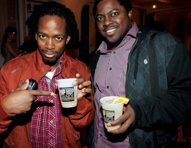 Seed Popular of Rule4080 and The Industry Cosign's BIG CED smile and display the signature Hip Hop Dance Experience cups.