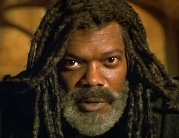 The Caveman's Valentine (2001)   Romulus Ledbetter (Samuel L. Jackson), suffers from paranoid schizophrenia and lives in a cave in Inwood Park, New York. He discovers the body of a young man and is determined to find out who killed him.