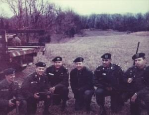 Earl G. Graves Sr. as a member of the U.S. Army's Green Berets