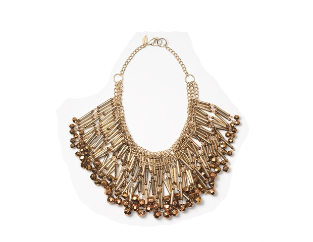 Chandelier: This is a necklace that will definitely make a statement in your wardrobe. I actually own this one and can attest to its amazingness. Something else amazing about it: It's marked down more than 50% right now. Coldwater Creek, $34.99