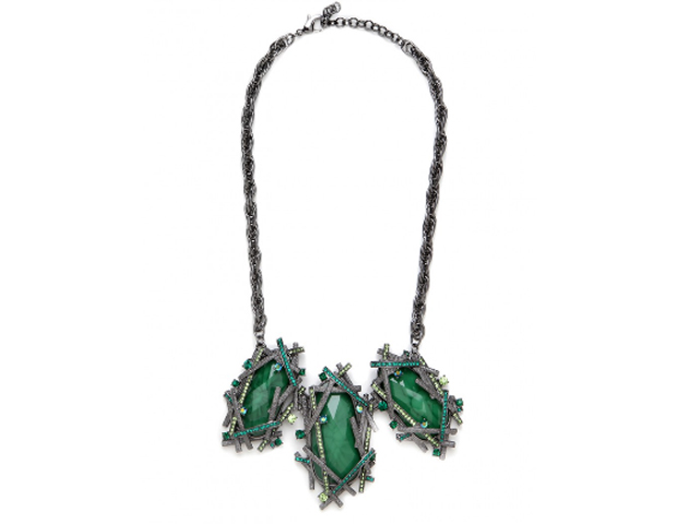 Green Krypton: This piece is emerald, the 2013 color of the year. You can find it on a site that has tons of great statement pieces for you to select from. BaubleBar, $48