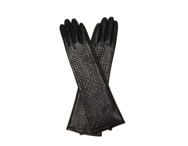 """Brian Atwood leather Gloves: Known for his killer heels these  Brian Atwood gloves embody """" the same flirty-glam spirit that makes his shoes so coveted."""" At press time, they were sold out on the Neiman Marcus Website but are still available at Target.com. $49.99"""