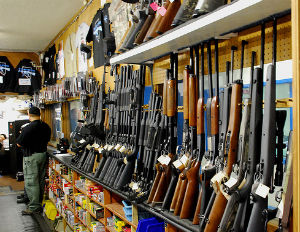 Gun Stores See Increase in Business after Newtown Shooting