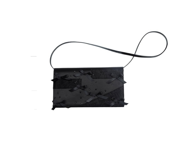 Prabal Gurung Clutch: Currently the fashion darling of the moment, this designer's pieces make most girls swoon---and others faint after one look at their price. This bag is the great way to have his designer's flair at a price you can afford. $49.99