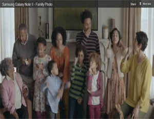 Samsung Hits Home Featuring African-American Family in Ad
