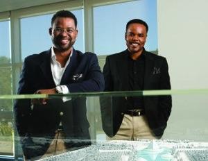 Tim Jackson and Frank Kendrick of the NuJak Companies. (Image: Ryan Ketterman)