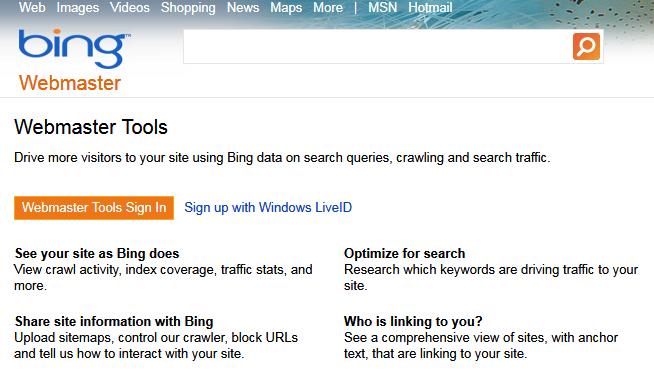bing-webmaster-tools