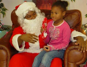 black-santa-kid