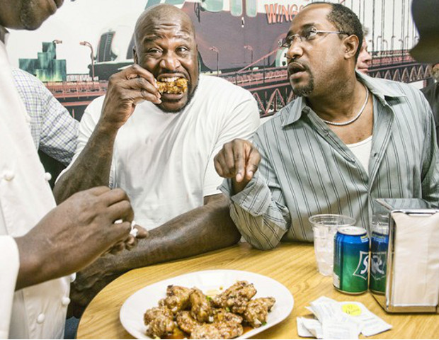 "Shaquille O'Neal helped to debut ""Dry Fried Wings"" in South Florida last summer. Boosted by Shaq's appearance, the chicken brand's weekend revenues shattered their previous 13 year record by more than 55%.  