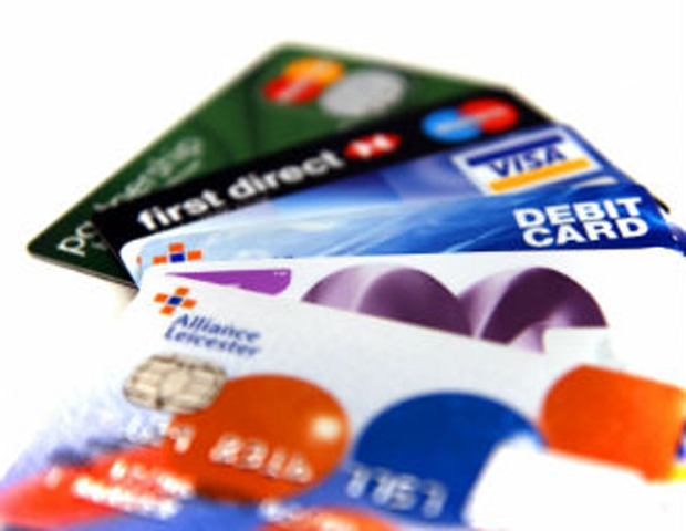 Credit card usage is on the rise, new data says.