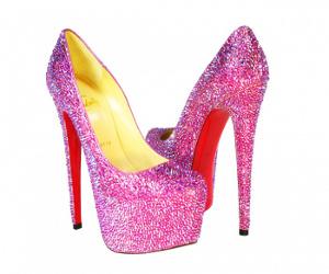 crystal heels swarovski crystals