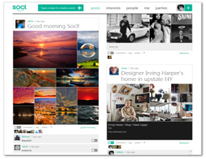 Microsoft Tests Social Media Waters With Socl