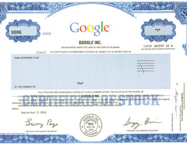 Shaquille O'Neal invested in Google stock before it's IPO. When Shaq invested in August 2004, Google's stock was priced at a bit over $100 a share. At it's current price, Shaq is 6x richer - off the stock alone.