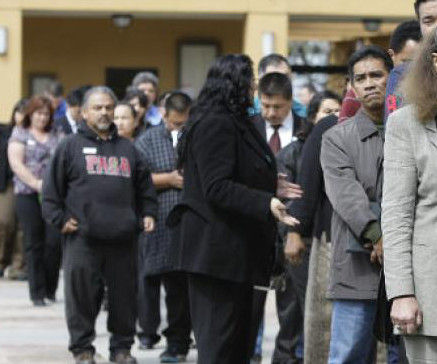 Number of People seeking Unemployment drops to 2008 levels