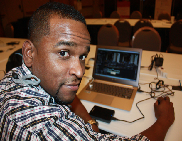 If tech is present so is Antonio Wells, founder of AndroidTapp.com, a site that reviews Android apps.