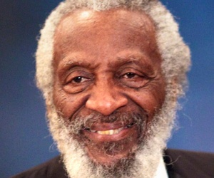 dick gregory smiling