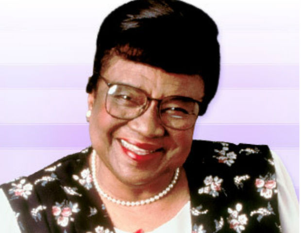 Rosetta LeNoire smiles one last time.