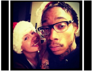Amber Rose + Wiz Khalifa role play for Christmas.