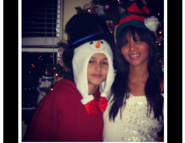 Denise Vasi celebrates Christmas.