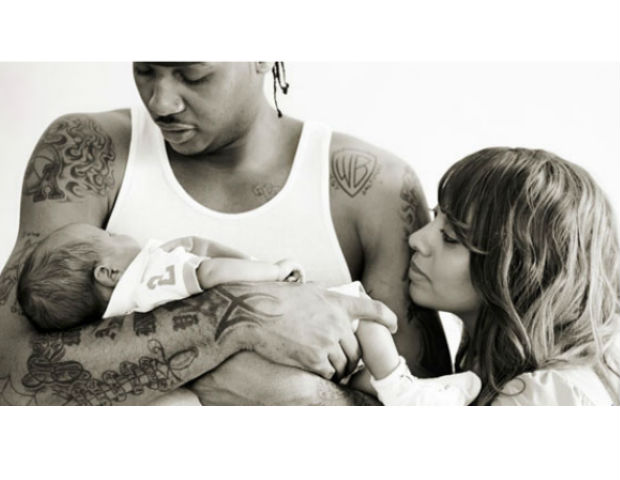 La La and Carmelo welcome their son, Kiysan, into the world.