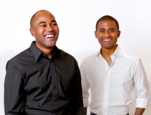 Incubate NYC founders Marcus Mayo and Brian L. Shields. (Image courtesy of Incubate NYC)