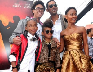 Will Smith + Family celebrate another great year
