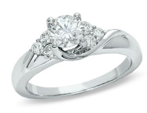 Can you guess how much this ring from Zales retails for?