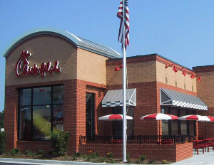 chick fil a restaurant