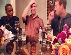 Queens rapper Nas meets with tech heavyweights Mark Zuckerberg and Ben Horowitz this weekend (Image: File)