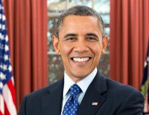 president obama smiling