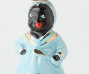 anthropologie racist candlestick mammie