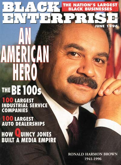 black enterprise magazine cover june 1996