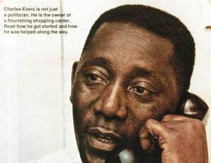 Historic Black Enterprise Magazine Covers: Charles Evers, August 1970