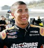 Darrell Wallace Jr., just 19, is one of NASCAR's hot young talents.