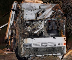 Eight People Killed in Tour Bus Crash in California